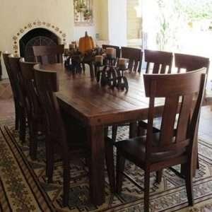 Barnwood Farm Style Table By Furniture ART Company