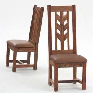 Dinning Room Herringbone Style Chair By Furniture ART Company