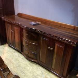 Wood Sideboard Wood Server