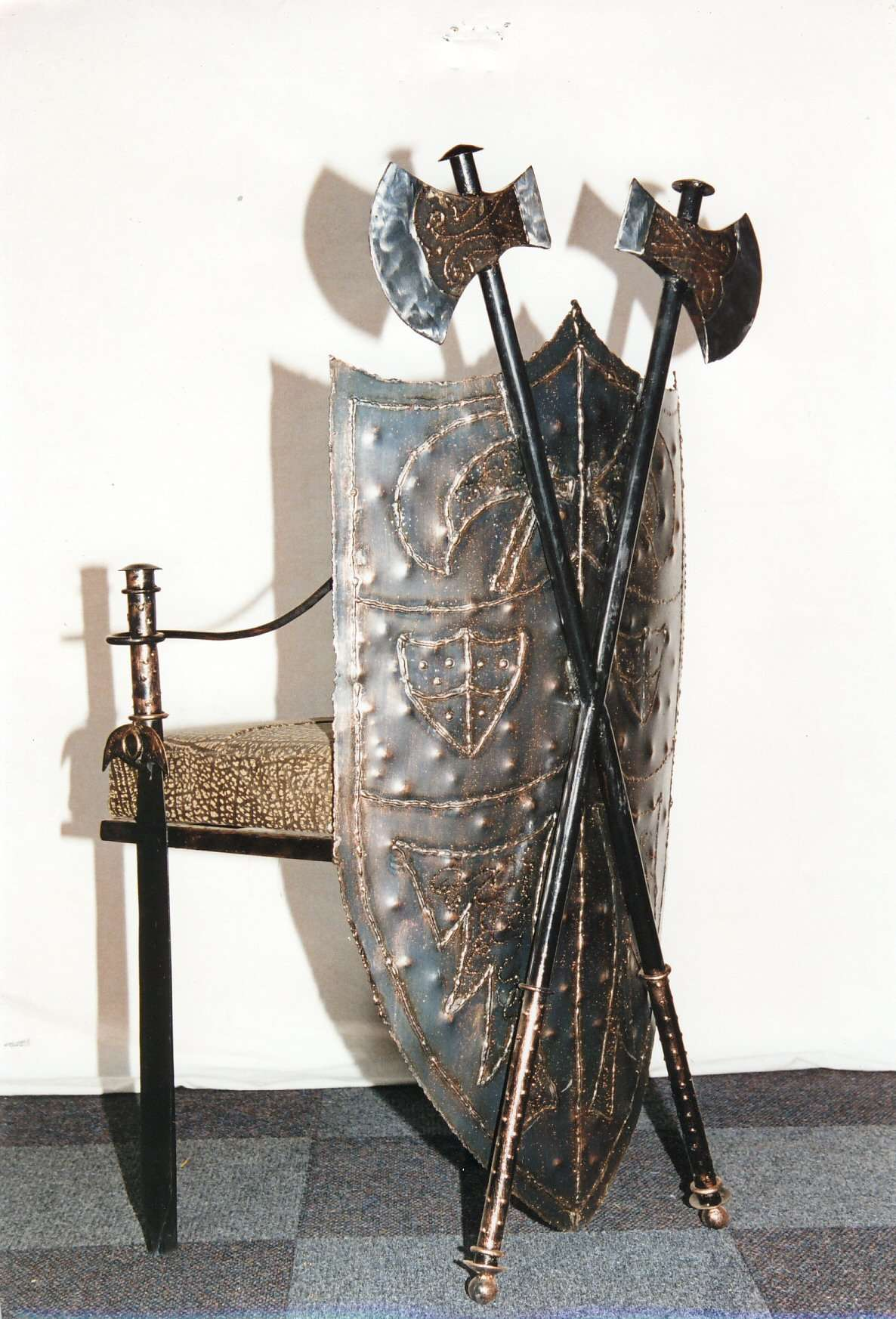 Medieval Chair By Furniture ART Company