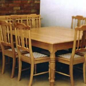 Traditional Eight Person Table By Furniture ART Company
