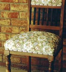 Custom Floral Chair By Furniture ART Company