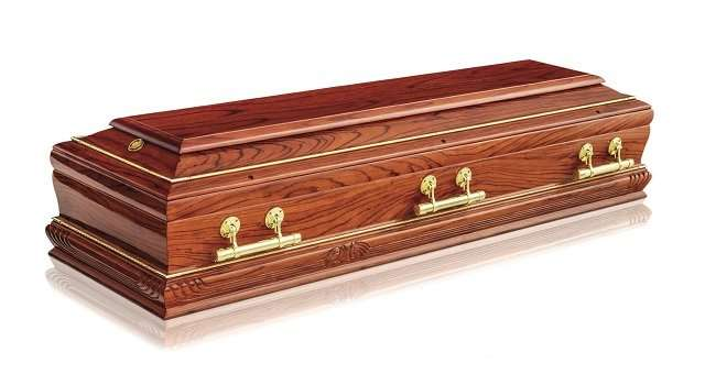Personalized Coffin