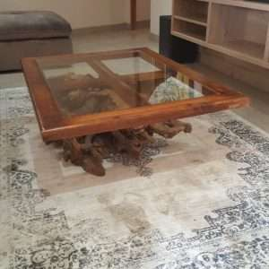 Glass Coffee Table By Furniture ART Company