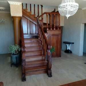 Black Wood Stairs By Furniture ART Company