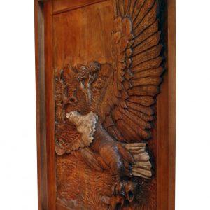 Wooden Eagle Pivot Door