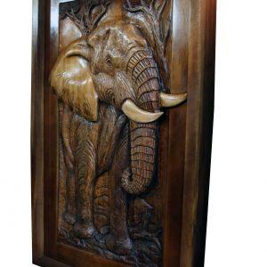 Wooden Pivot Elephant Door
