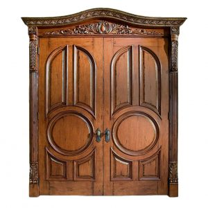 DUBBLE VICTORIAN DESIGNED DOOR