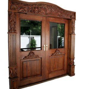 Wooden Double Framed Door