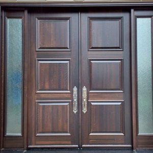 Wooden classiness door